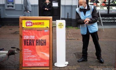 corona virus high level NHS UK